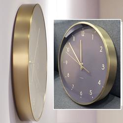 家用时尚北欧创意轻奢客厅挂表现代个性简约挂钟欧式钟表挂墙时钟