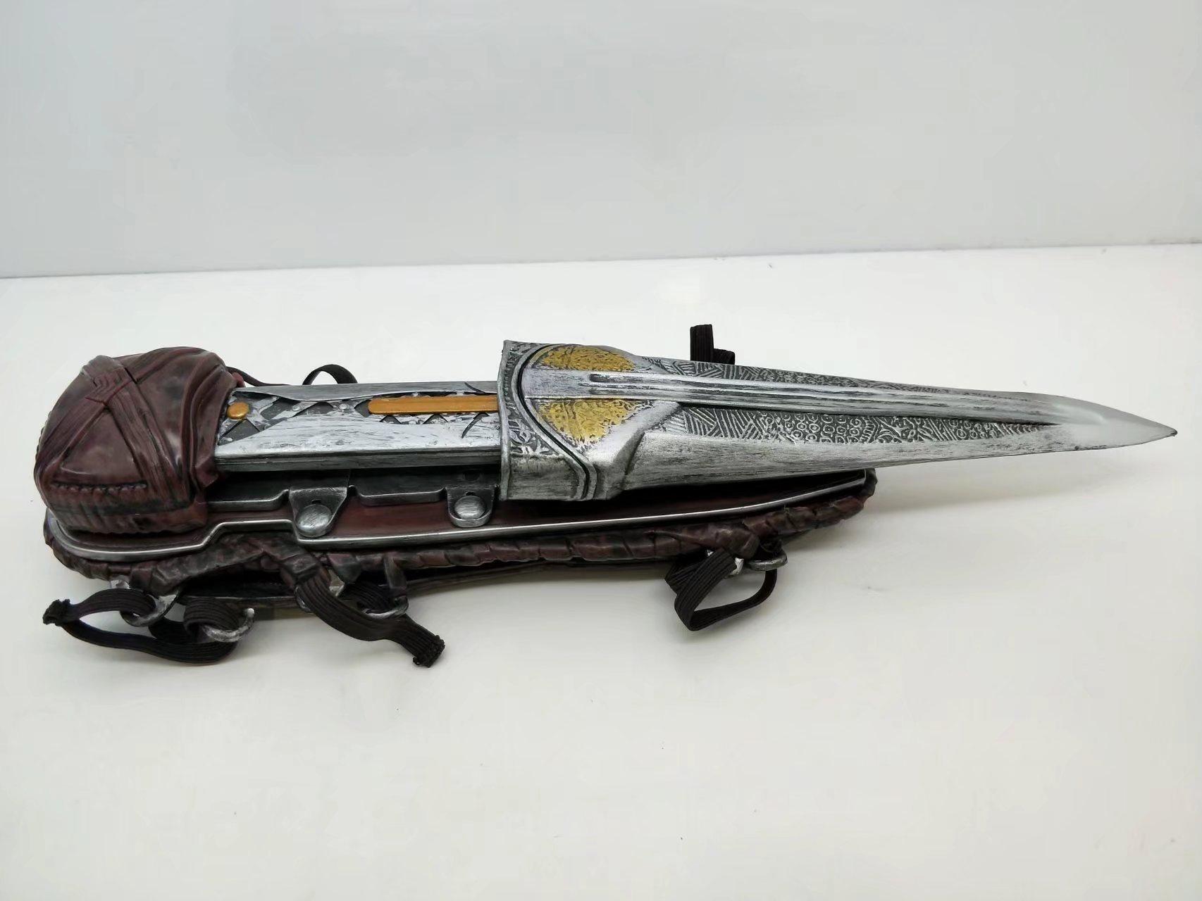 刺客信条1/1袖箭Cosplay武器道具隐藏之刃腕套电影周边玩具手办 Изображение 1