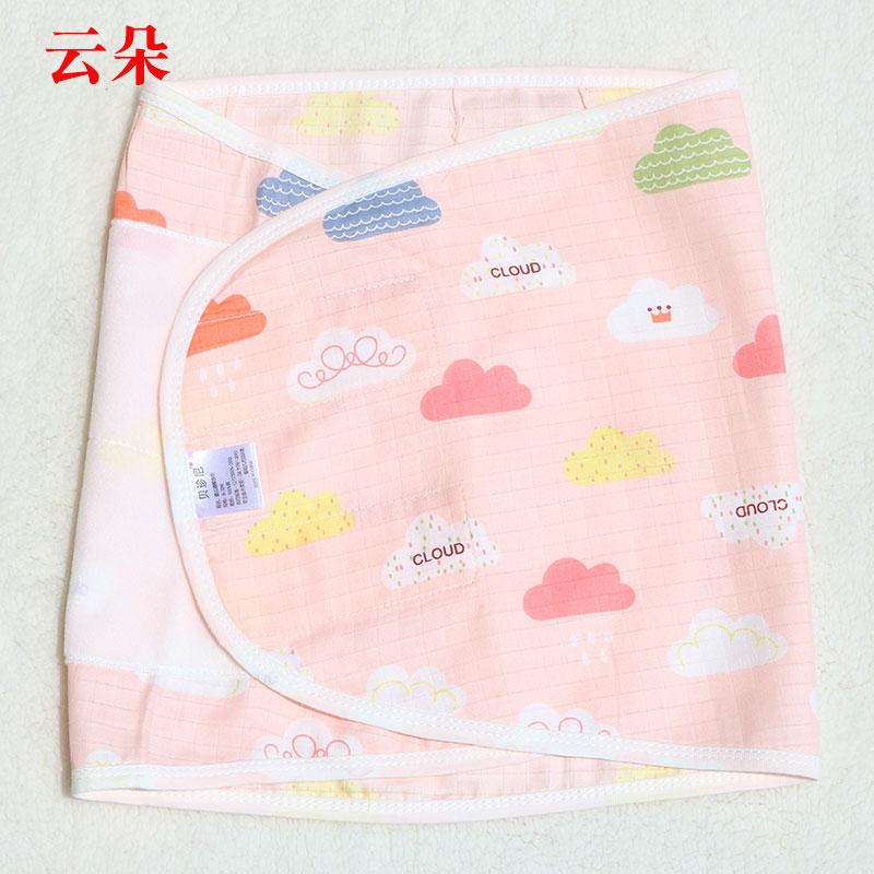 Hunan manufacturer direct sales anti startle gauze swaddling thin spring and summer baby sleeping bag towel newborn holding bound hands