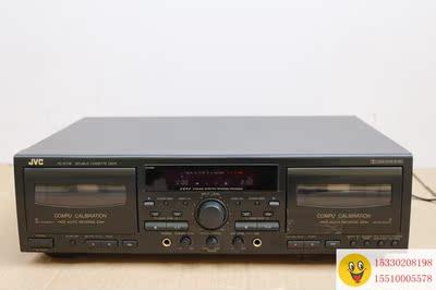 二手卡座机 磁带机 JVC TD-W718 发烧专业卡座机 磁带机 有说明书