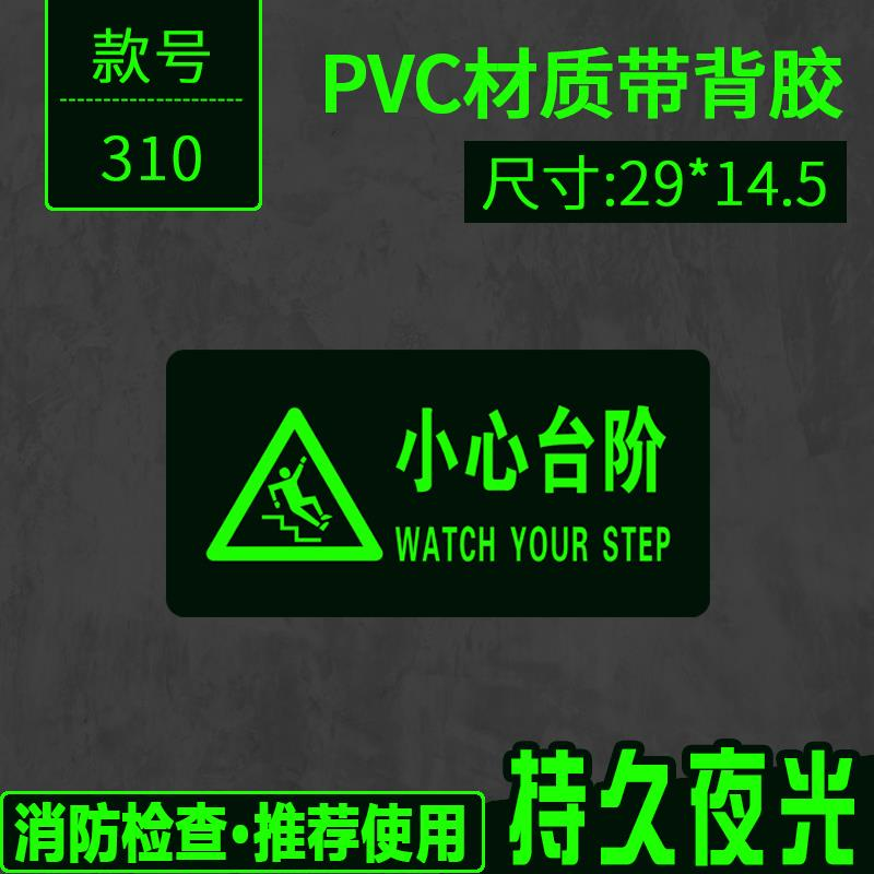 Emergency exit decoration arrow turn right, green night light, fire protection ground paste prompt board, wall paste sign, channel sign
