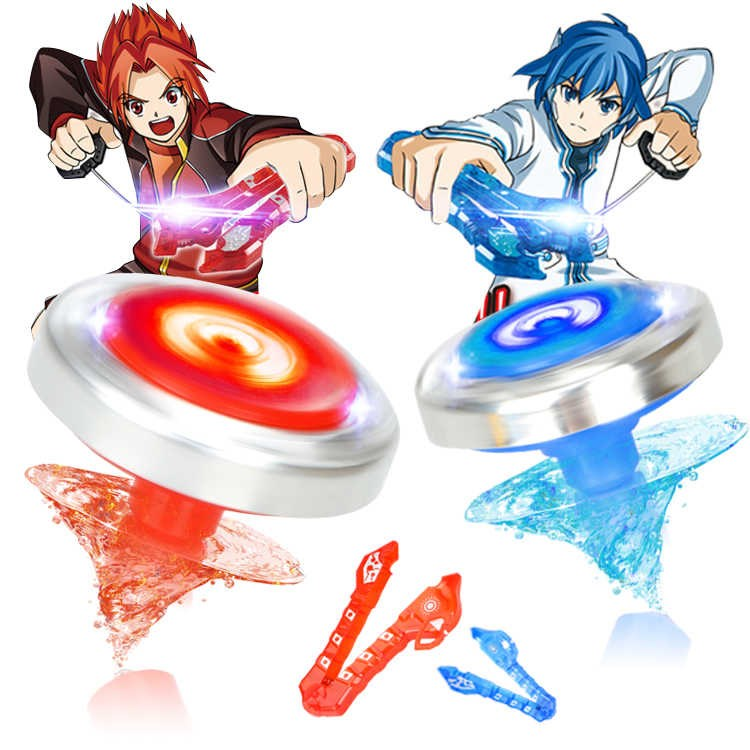 [20% off in limited time for pasting music] color fight top metal magic magic top second generation childrens toy