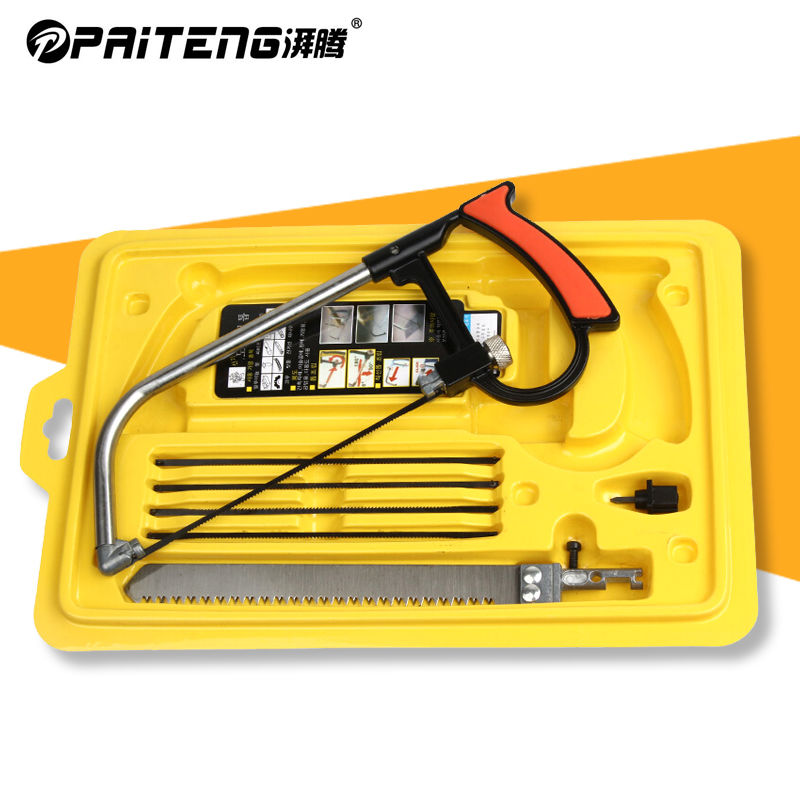 [multi function magic saw] paiteng woodworking saw mini manual saw hacksaw curve arc saw devil saw set