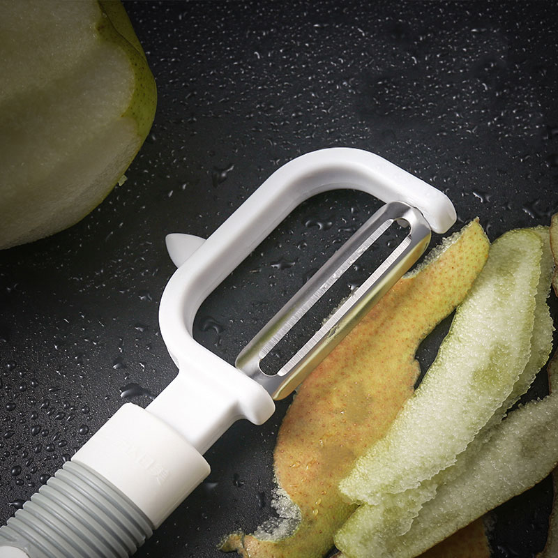 Japanese and American fruit and vegetable peeler artifact stainless steel sharp planer Luffa fruit knife household kitchen utensils scalpel