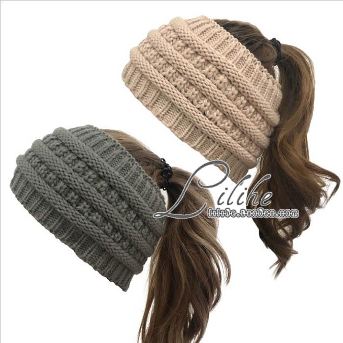 日本厚加宽边头套女发套美头带额头保暖超宽加日韩国粗毛线发带帽