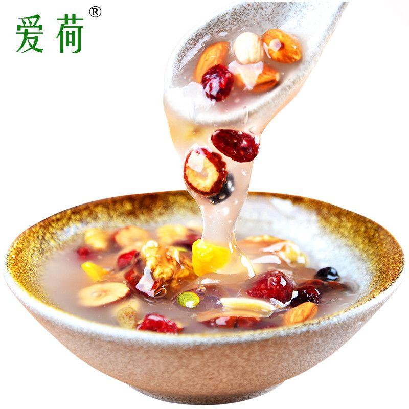 坚果藕粉即食方便早餐水果干藕粉羹非杭州西湖特产450g小袋装