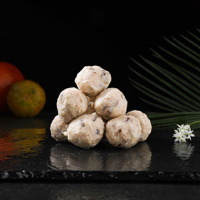 香菇贡丸 250克满100元包邮 火锅贡丸 豆捞食材 福建丸子 猪肉丸