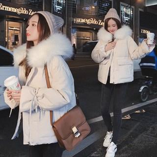 2019冬季新款韩版东大门羽绒棉服女装短款棉衣外套加厚面包服棉袄