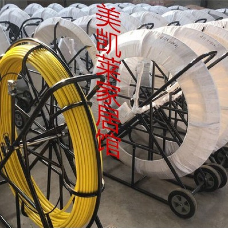 Optical cable traction cable pay off machine cable hole through pipe device wiring pipe piercer cable cable cable pull lead machine