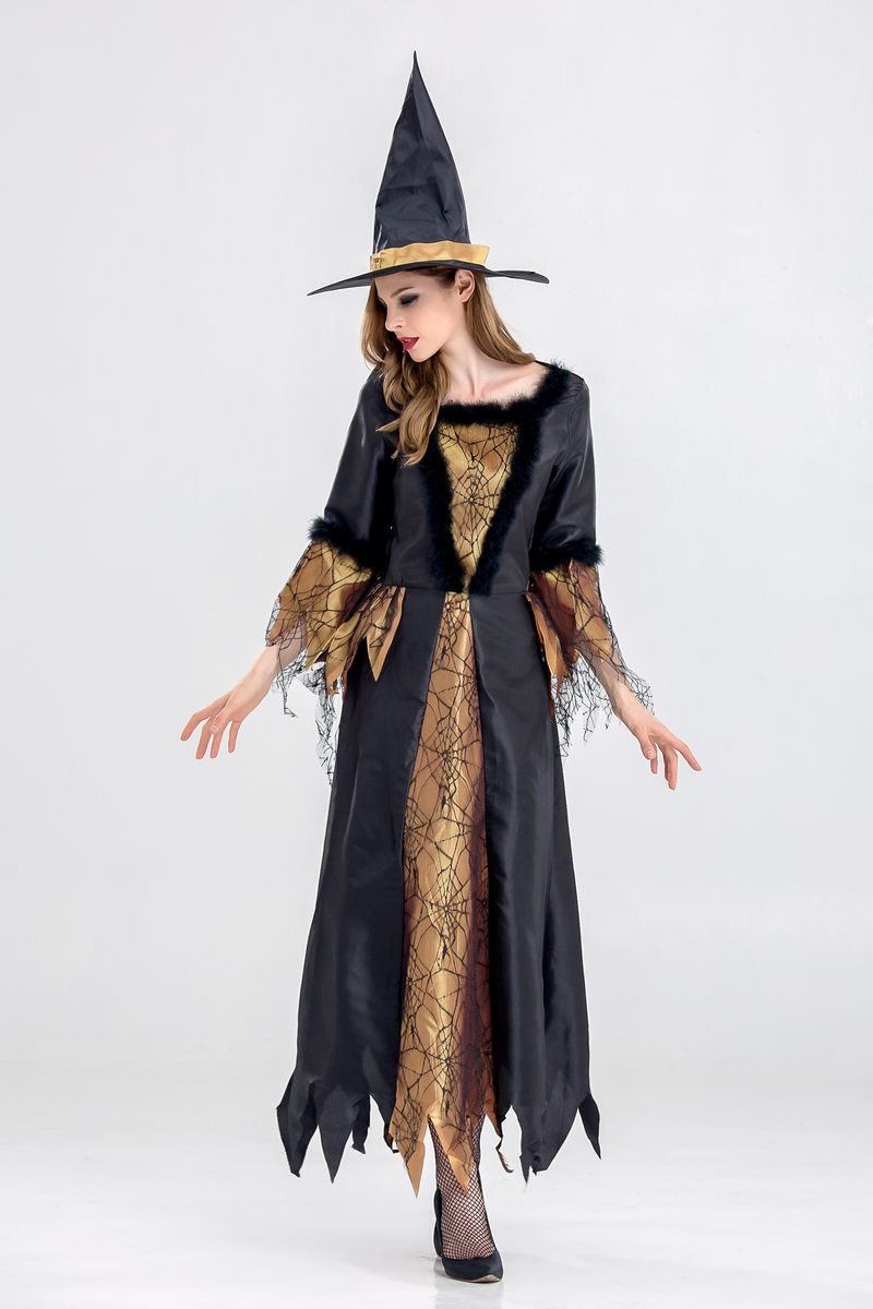 Halloween uniform Witch Costume sexycosplay role play Sexy Princess gowns on Halloween
