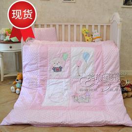 全棉婴童多功能六七件套幼儿园被子三件套四k季被棉花冬被午睡被
