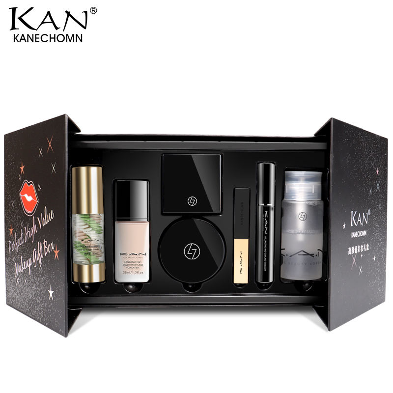 Kan high beauty makeup gift box novice cosmetics set full set of combination student female official authentic