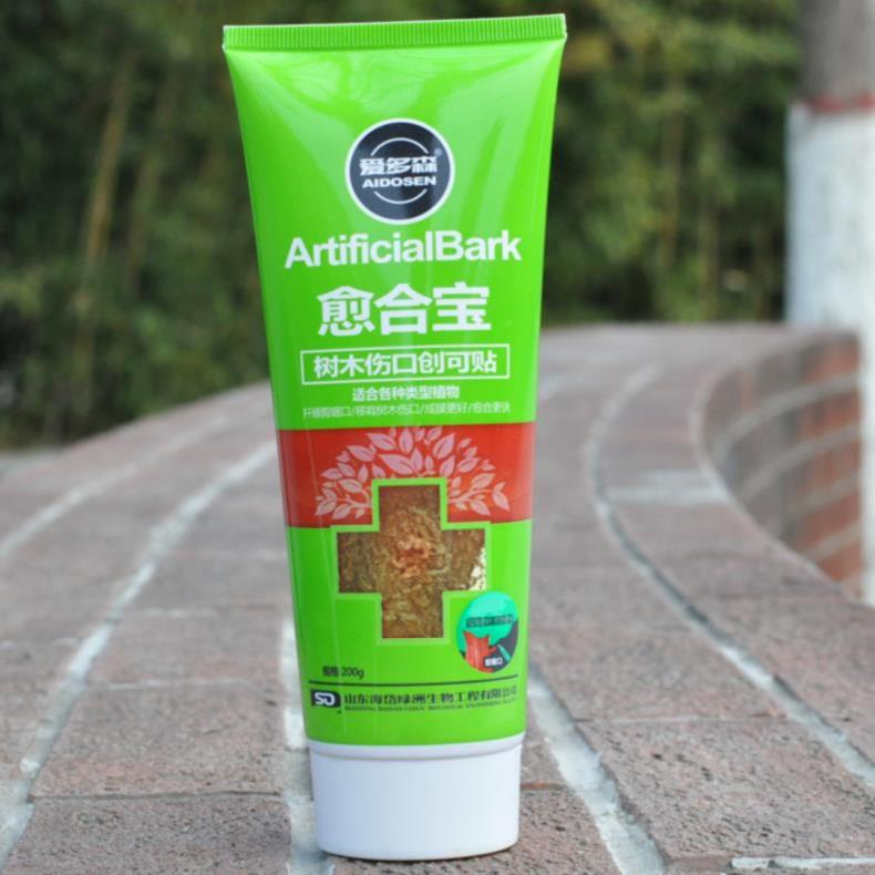 。 Bark protective agent bonsai stump wound healing agent plant sealant artificial flowers and trees withered branch wound healing ointment