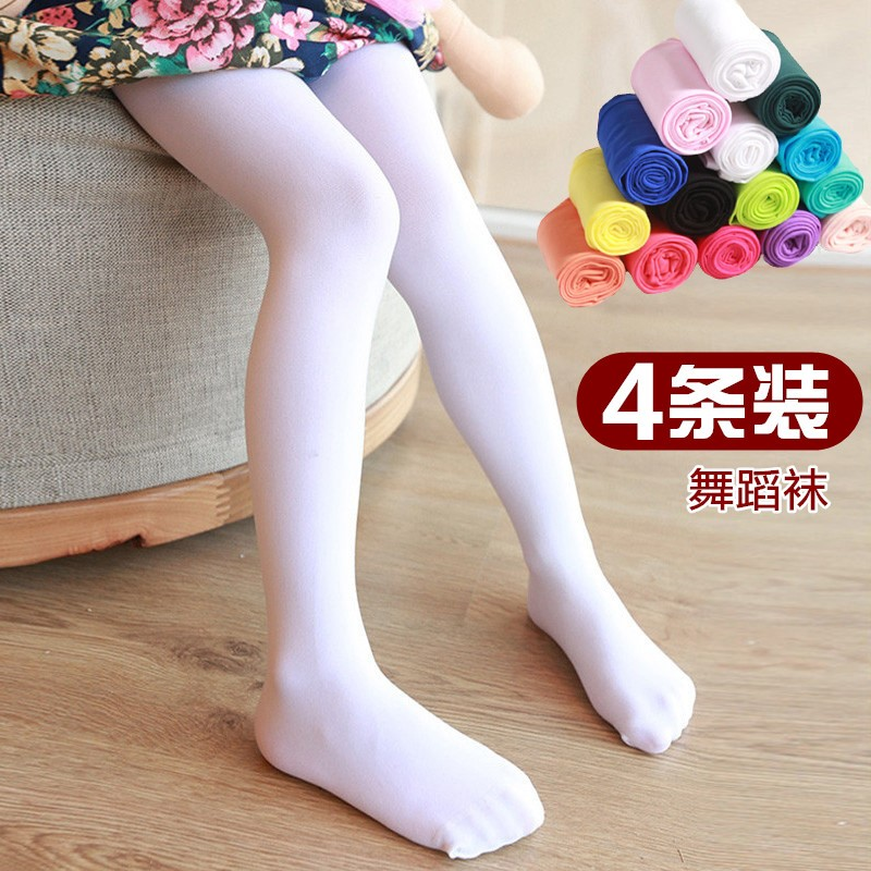 Socks girls spring and autumn thin childrens socks students white childrens shoes socks hats antiskid antiskid sole super pantyhose big children