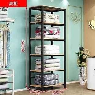 床品货架展示架欧式多层店铺商用组合四件套被子家纺展示柜陈列架价格