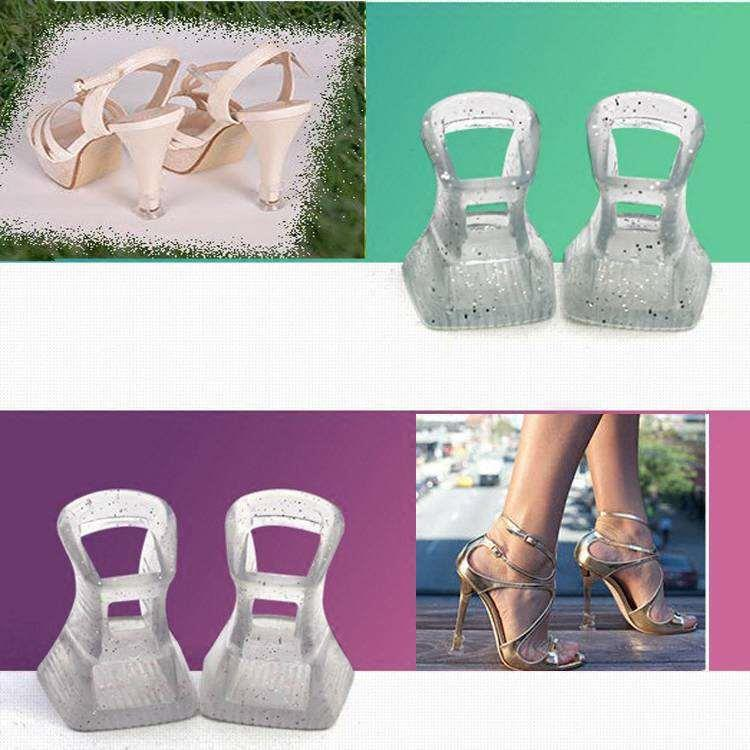 High heeled shoes lawn artifact thin heel protective cover heel wear resistant cover Latin dance heel cover mud grass heel nail