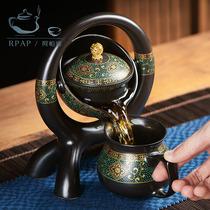 RPAP自动泡茶器懒人茶壶套装家用办公室会客简约茶杯功夫茶具套装