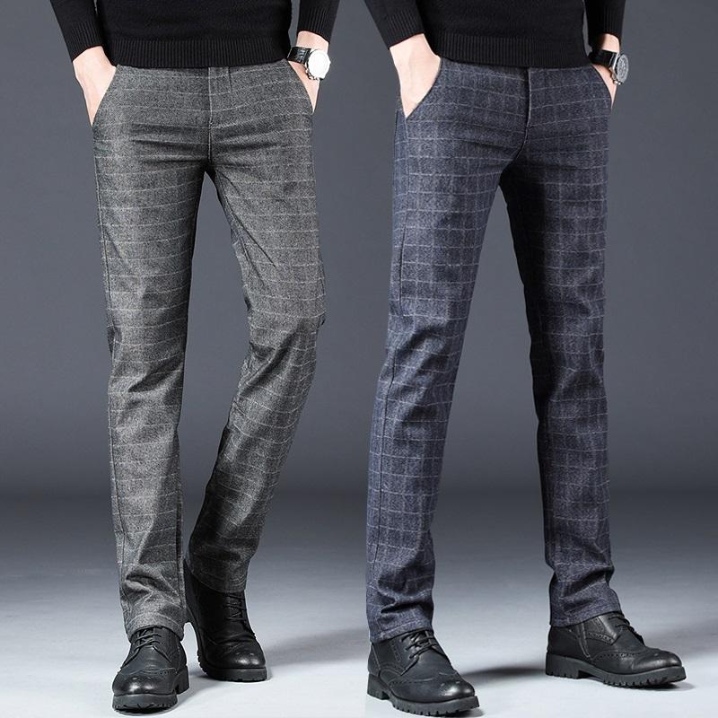 夏季男士休闲裤直筒宽松长裤