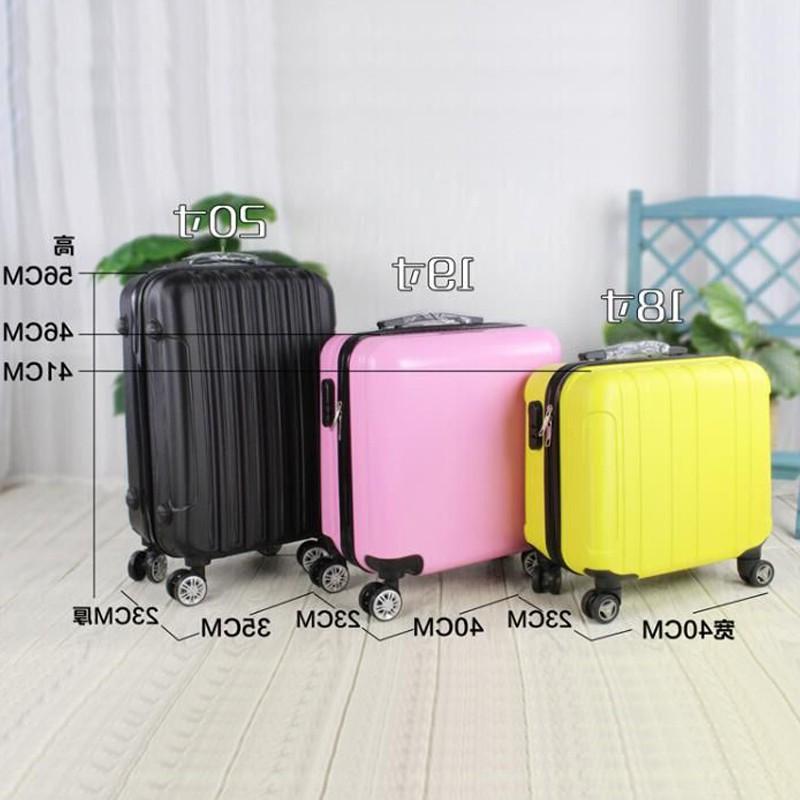 韩版迷你旅皮箱20寸登机手提箱子小行李箱男18小型拉杆箱女16密码