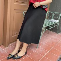 五季小吉家木子夏的a大大大l码女装店铺理想半身裙女大码a字连衣