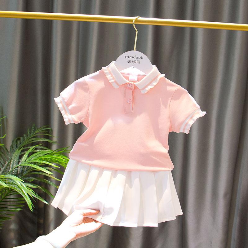 女童夏装短袖2020新款儿童夏季t恤