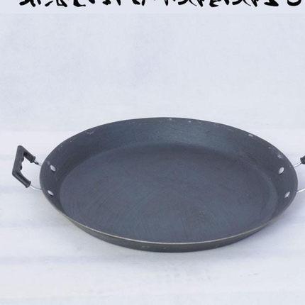 .平底锅大号商用6040cm家用电磁炉专用大煎锅超大烤冷面多功能不