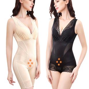 瑾美人收腹连体衣正品计束腰瘦身薄款燃脂美体产后塑身塑形束身衣