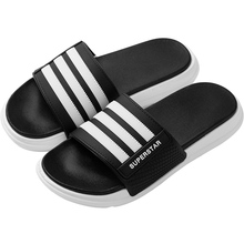 2020 new type slippers for men in summer wear Korean version trend in and out of the room couple's flip flops for domestic antiskid outdoor sandals