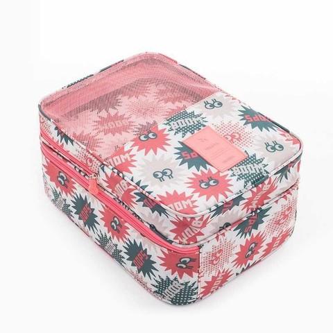 整理袋套装鞋子收纳包多层行李出门男士网红ins三双北欧功能潮流