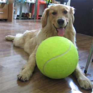 Inches Pet Giant Dog Tennis Ball Toy 9.5