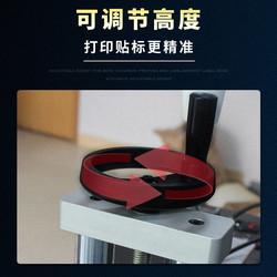 全自动即时打印贴单机一体机标签条码快递单自动不干胶平面贴标机