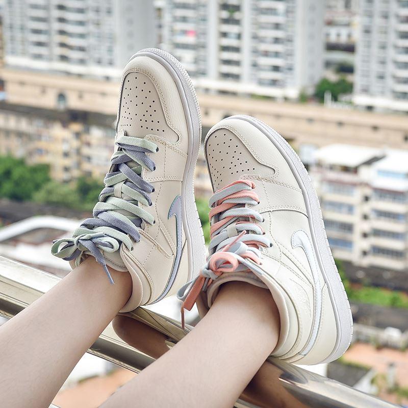aj1女鞋正版樱木花道鸳鸯四色学生韩版运动高帮鞋潮夏季空军一号