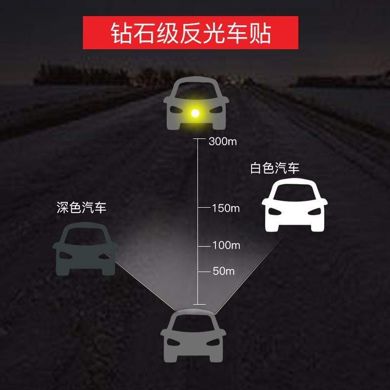 Fuel tank cap No.95 oil sticker waterproof reflective 92 fuel tank car luminous car sticker personalized diesel