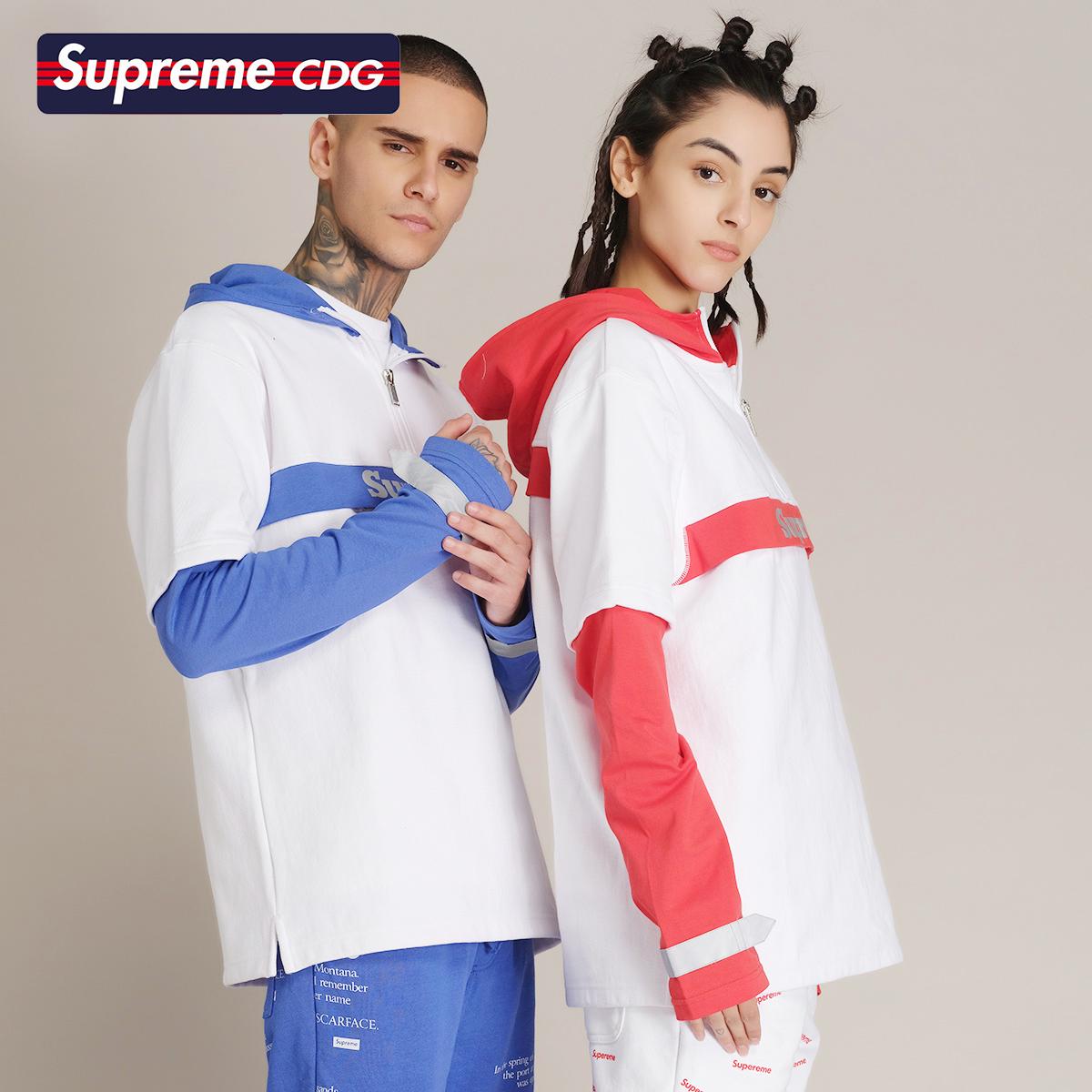 Supreme CDG 2020年春季新款 運動休閑街頭衛衣男女同款套頭衛衣