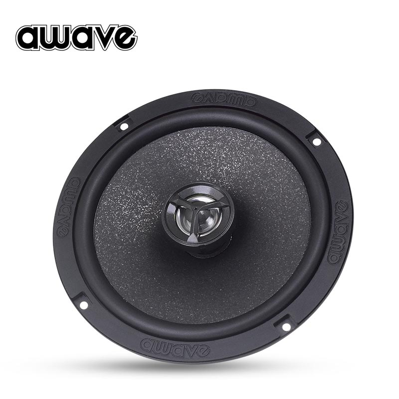 Awave AWV a650 auto audio refitting 6.5 inch car speaker rear door dual channel coaxial speaker package