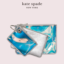 Kate Spade KS Sam color matching neon color magic detachable package storage bag three piece bag