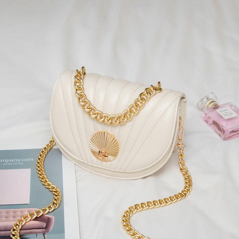 高级感时尚小圆包包女mini软皮香风链条包迷你O手提斜挎小包单肩.