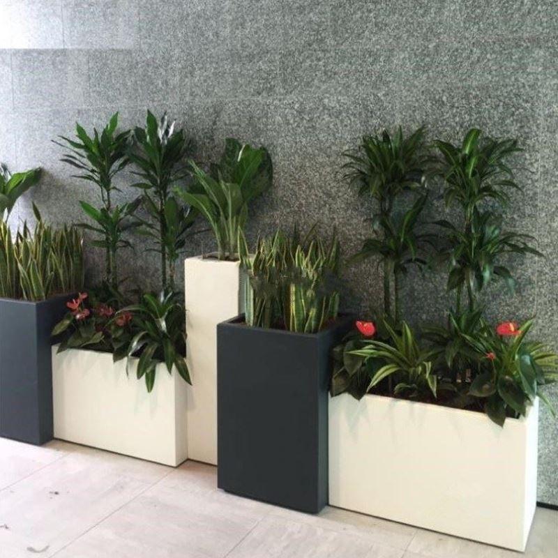 种植箱咖啡馆花槽长方形阳台种植槽按摩店医院足浴店音乐餐厅时尚