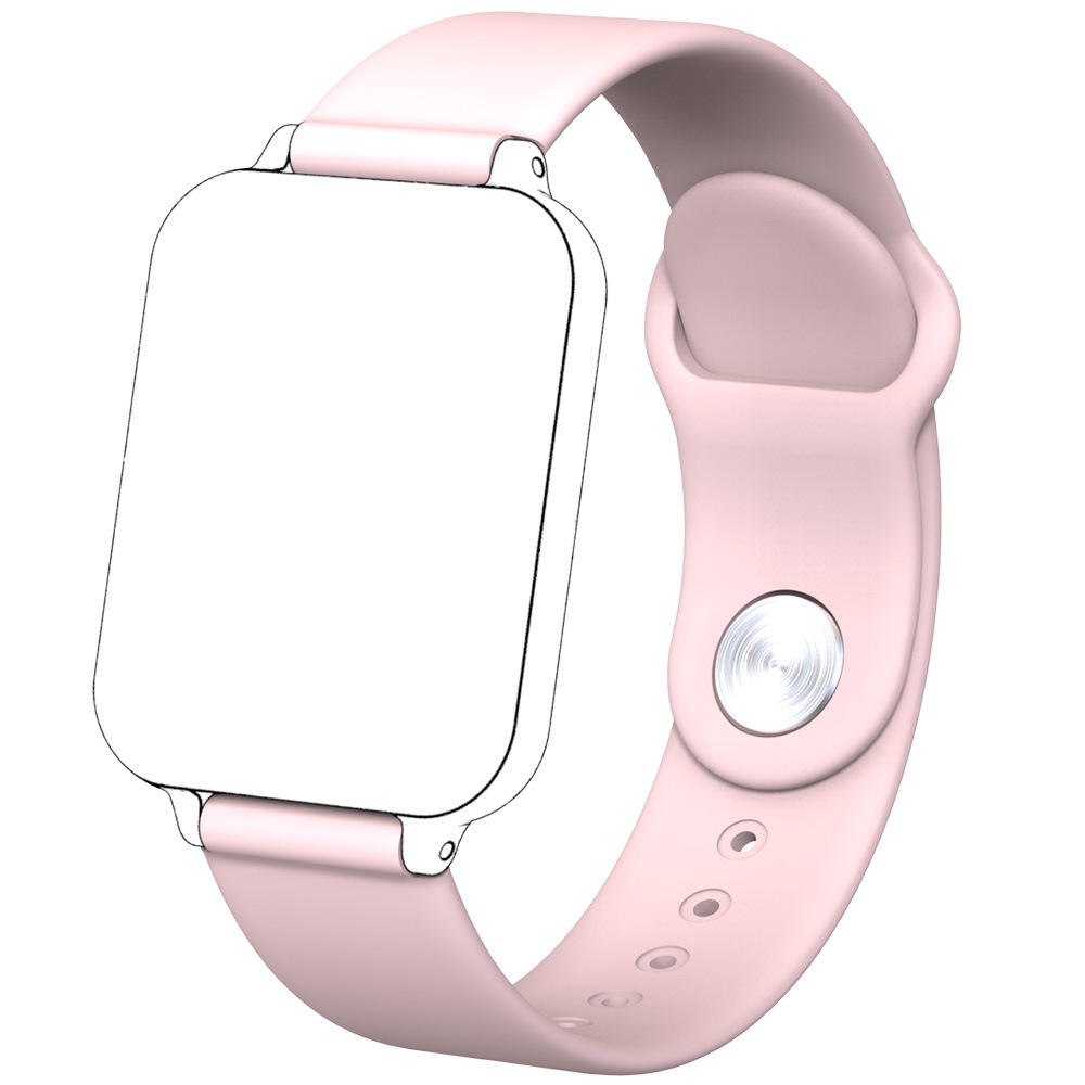Cross border explosive B57 smart watch strap original smart Bracelet suitable for 16mm silicone TPU strap