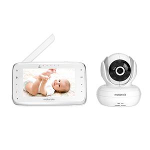 摩托罗拉宝宝婴儿监护器看护器监视器啼哭提醒儿童分房看护MBP38S