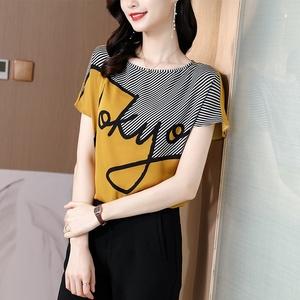 短袖2021夏季新款韩版宽松显瘦衬衫