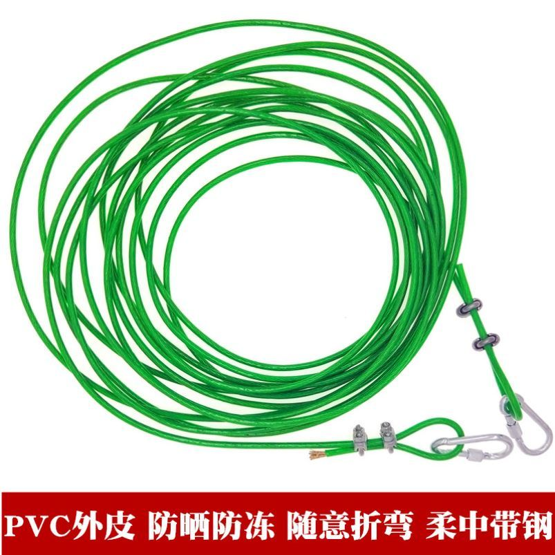 10m thick clothesline for outdoor travel