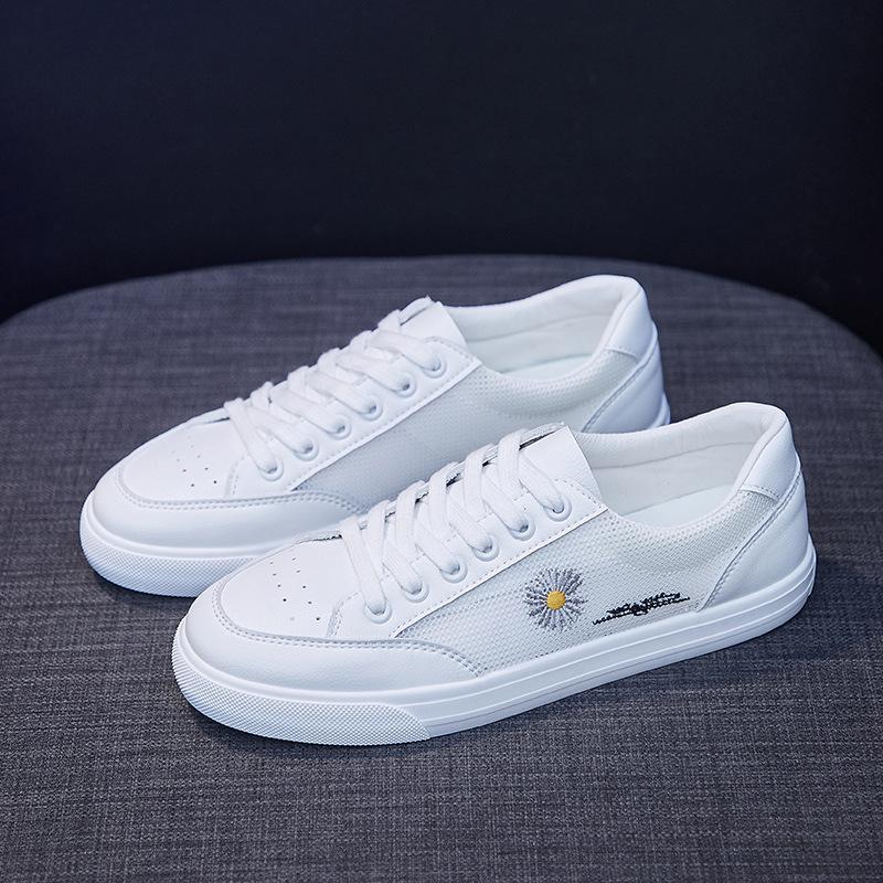 春夏季新款小雏菊休闲小白鞋女鞋