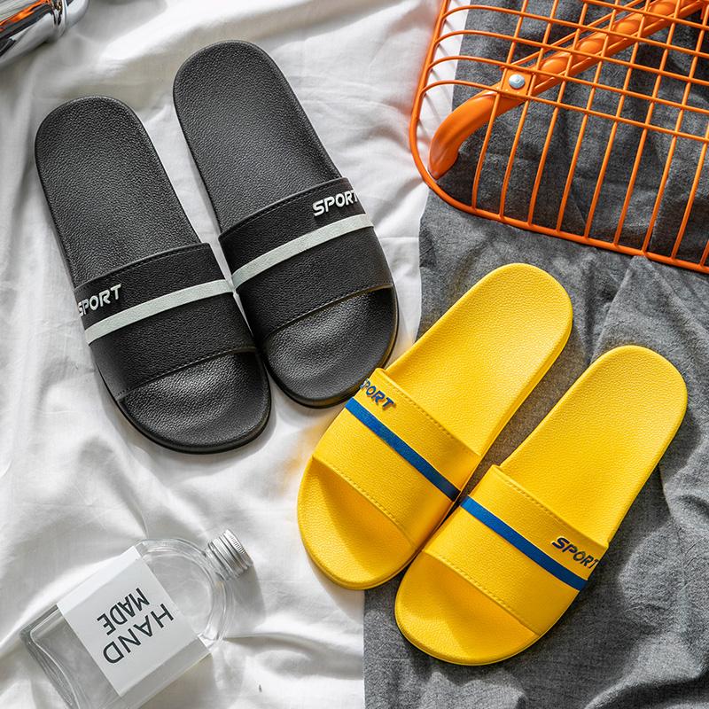 拖鞋男士夏季沙灘潮流韓版防滑時尚耐磨外穿一字涼拖家用室內涼拖