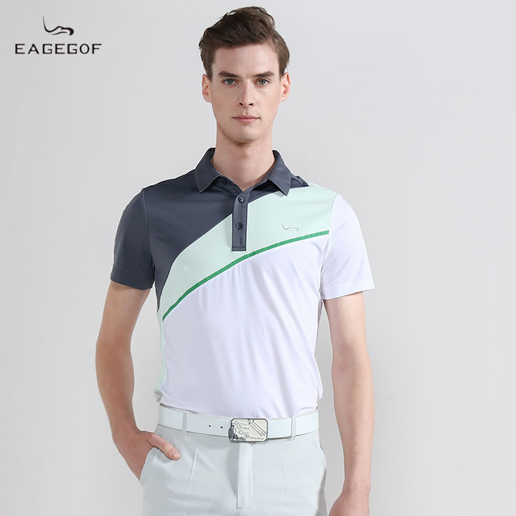 Eagegof new business short sleeve T-shirt summer outdoor sports casual Polo sweaty