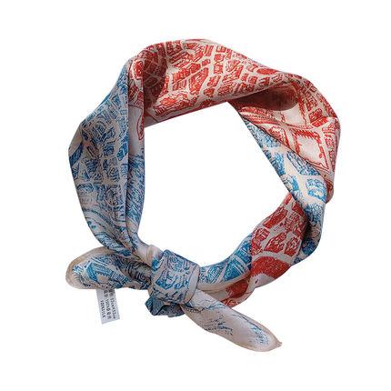 小方巾百搭夏季装饰桑蚕丝气质丝巾