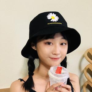 领3元券购买小清新防晒韩版出游雏菊女遮阳帽子