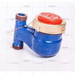 。立式安装家用数字热水表/自来水立式全铜热水表4分6分