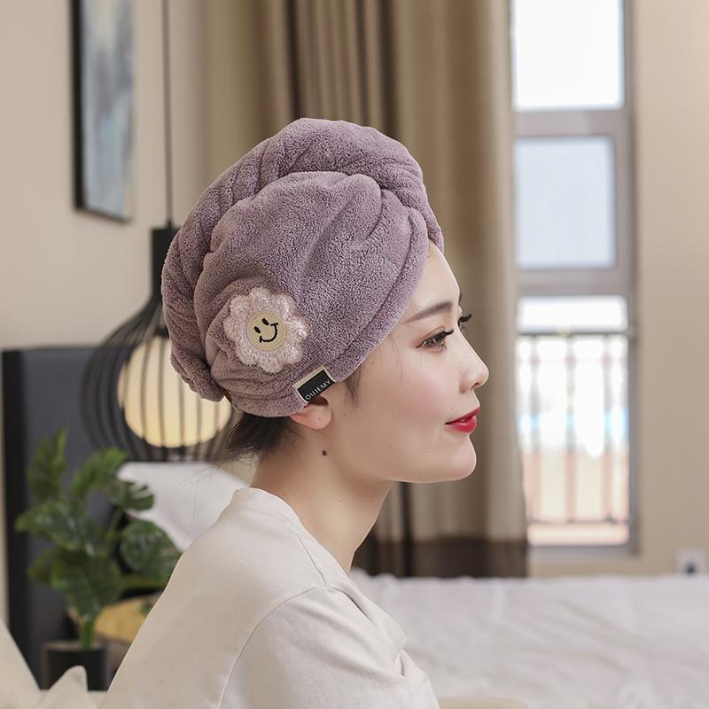 干发帽女超强吸水速干帽浴帽擦毛巾