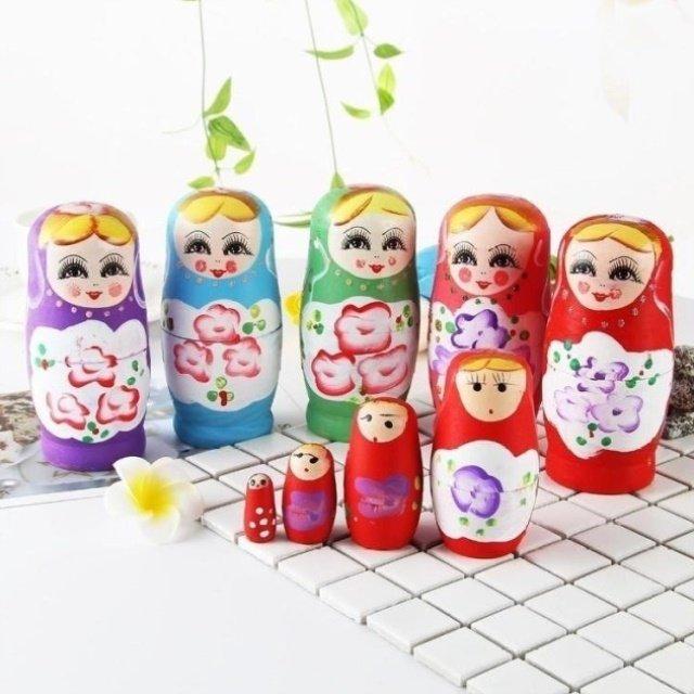 5层玩具礼物套娃6层木质送俄罗7层孩子10层15层送女儿20层